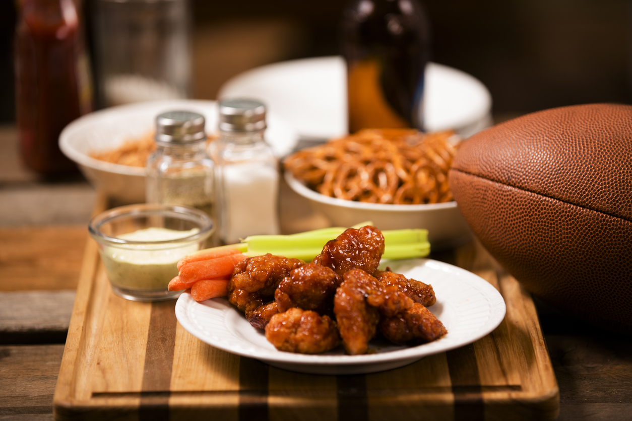 Top 5 game day recipes